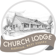 Church Lodge Birdham logo
