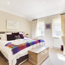 Seacroft double bedroom - Church Lodge B&B, Birdham