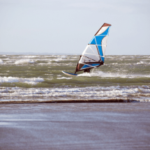 Windsurfing at West Wittering Beach